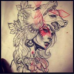 Spirit wolf Women