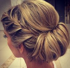 Formal up-do.