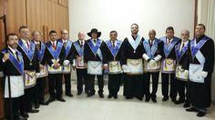 RITO    BRASILEIRO   DE MAÇONS ANTIGOS LIVRES E ACEITOS - MM.´.AA.´.LL.´.AA.´.: Loja Guardiões da Arca realizou sessões de grau C....