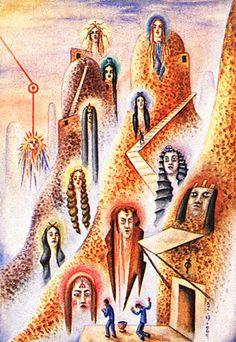 Zodíaco - Xul Solar - Surrealism 1949