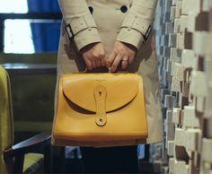 Women Leather Handle Bag