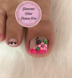 Toe Nail Art, Toe Nails, Nails On Fleek, Manicure And Pedicure, Nail Artist, Pretty Nails, Nail Art Designs, Nailart, Tattoos