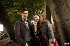 The Doctor and his new companion