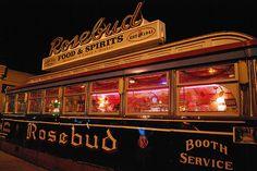Rosebud Diner, Davis Square http://www.amazon.com/The-Reverse-Commute-ebook/dp/B009V544VQ/ref=tmm_kin_title_0