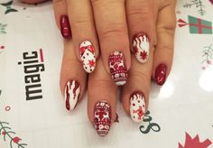 Mani Xmas Nailed It, Magic Nails, Xmas, Beauty, Christmas, Navidad, Noel, Beauty Illustration, Natal