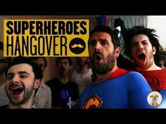 The Superheroes Hangover Short Parody #Hangover #Superheroes #Party
