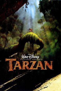 Original Tarzan Movie Poster 1999