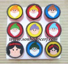Cupcakes Branca de Neve! curta nossa página no Facebook: www.facebook.com/sonhodocerj