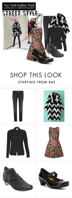 """""""NYFW2"""" by peeweevaaz ❤ liked on Polyvore featuring Victoria Beckham, agnès b., Alice + Olivia, Naot, women's clothing, women, female, woman, misses and juniors"""