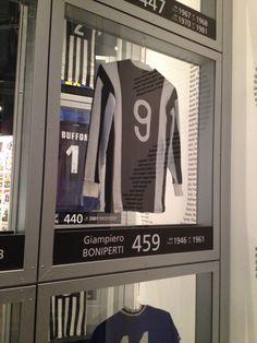 Juventus Museum-Maglia di Giampiero Boniperti Juventus Stadium, Juventus Fc, Legends, Strength