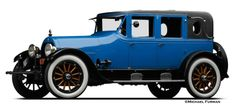 1920 Cadillac, one of a kind custom bodied limousine, that was built for John Rohan of Oakland, California, a colorful merchant, politician and philanthropist....