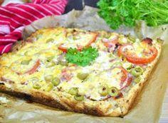 Placek ziemniaczany prawie jak pizza