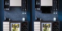 Wine storage from California Closets