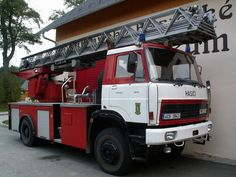 Rescue Vehicles, Fire Apparatus, Fire Engine, Fire Trucks, Cars And Motorcycles, Techno, Engineering, Czech Republic, Country