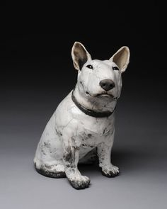Artist: Ronnie Gould, Title: Bull Terrier - click for larger image