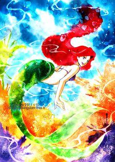 Ariel - Disney Princess Fan Art (26328554) - Fanpop