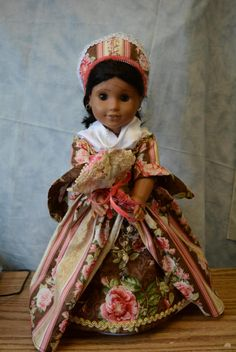 18 in doll clothes Tudor dress petticoat with boning