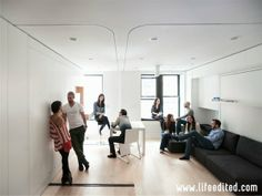 Check Out the 420-Square-Foot NYC Transformable Apartment With 8 Rooms