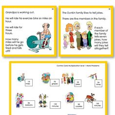 Math Word Problems for Multiplication level 1