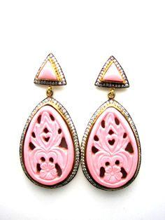 Fabulous pink earrings!