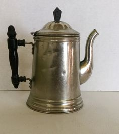 Vintage Rome Metal Ware Coffee Pot Tea Kettle by chriscre on Etsy