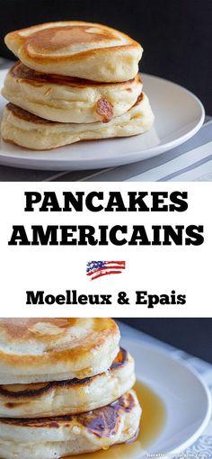 Pancakes moelleux Pi