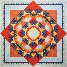 Woodcarvers Star Quilt Kit - would vary the colors a bit to give more interest