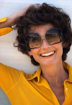 Audrey Hepburn (Signora Andrea Dotti) photographed by Douglas Kirkland at a farm near Rome (Italy), for the her publicity photos, in August 1975.
