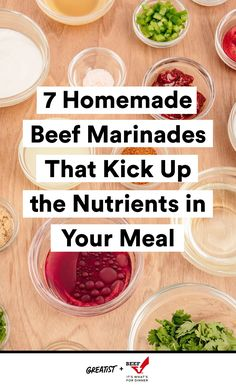 You can stop buying store-bought 'nades. #greatist https://greatist.com/eat/beef-marinade-recipes