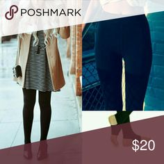 """Winter tights Used them twice.  Thick material ones that you need for winter. They are very thick.  They go well with dress and booties or boots.  Open toe design helps you wear them with peeptoe booties while flaunting your toes.  They run a little short for me because I'm 5'9"""" Would only fit XS or XXS Pants Leggings"""