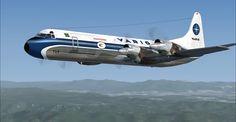 Varig Lockheed L-188 Electra-II