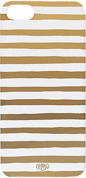 Gold Stripe iPhone Case