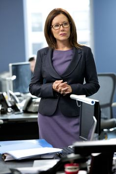 My favorite show is Major Crimes at TNT. Mary McDonnell is a big reason why.