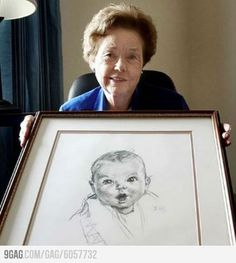Happy birthday, Gerber Ann Turner Cook, who became the original Gerber baby, just turned 90 years old!
