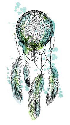 Mary Ink Tattoo Dream Catcher Drawing, Dream Catcher Tattoo Design, Atrapasueños Tattoo, Wallpaper Backgrounds, Iphone Wallpaper, Dreamcatcher Wallpaper, Pretty Wallpapers, Mandala Art, Creations