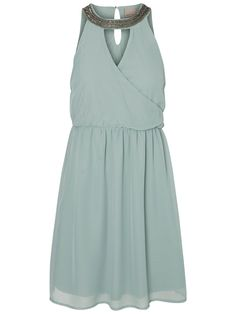 The perfect pastel green party dress from VERO MODA.