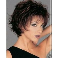 make short hair fancy3  **** like it a lot but maybe too short? not sure how it will look with light brown hair ****