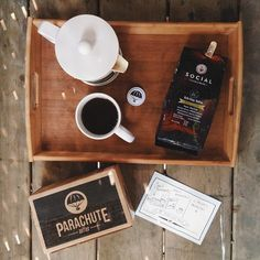HouseOfElle | Another fantastic mail day! BIG thanks to Mike & Jake at @parachutecoffee for da beans!