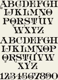 vctorian typeface - Google Search