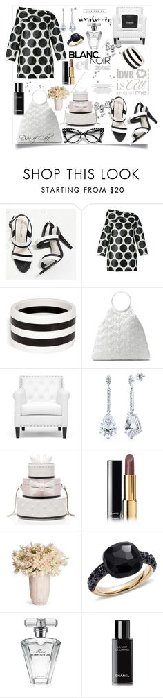 """Chic wedding Black & White"" by kercey ❤ liked on Polyvore featuring Marques'Almeida, R.J. Graziano, Michael Kors, Baxton Studio, BERRICLE, Kate Spade, Chanel, Pomellato and Avon"