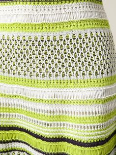 Knitting Patterns Skirt M Missoni striped zig zag crochet knit skirt Knitting Short Rows, Cable Knitting, Knitting Stitches, Knitting Yarn, Knitting Machine Patterns, Knitting Patterns, Knitting Ideas, Knitting Projects, Zig Zag Crochet
