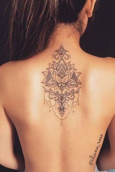 Mandala: learn more about this symbol full of meanings – …. - flower tattoos - Mandala: learn more about this symbol full of meanings – …. – flower tattoos Mandala: learn more about this symbol full of meanings . Diy Tattoo, Tattoo Tribal, Lace Tattoo, Lotus Tattoo, Tattoo Fonts, Mandala Tattoo Back, Mandala Tattoo Meaning, Samoan Tattoo, Polynesian Tattoos