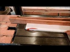 Tapering Jig For Table Saws - YouTube