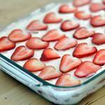 Easy Icebox Strawberry Shortcake
