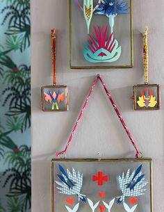 A Parisian Textile Designer's Pattern-Filled Maison, Design*Sponge