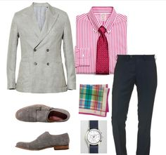 Outfit Idea: Smart casual summer look for him #menswear #Style #Stylist