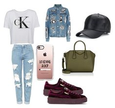 """Untitled #366"" by deamolla ❤ liked on Polyvore featuring Calvin Klein, Topshop, Puma, Givenchy, Frame and Casetify"