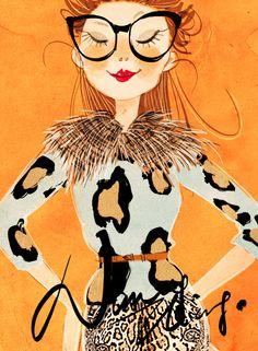 ‿✿⁀•Animal Print•‿✿⁀  ~~Nancy Zhang