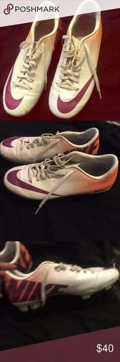 Soccer cleats. Only used twice. They are in good condiotions Nike Other