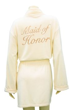 Maid of Honor Robe from Wrap Up by VP